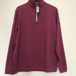 NWT Peter Millar 1/4 zip sweat shirt size L
